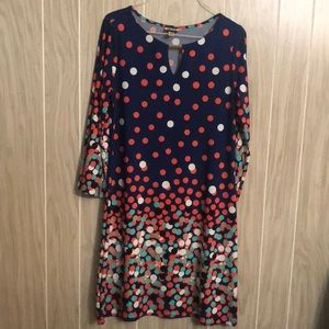 2 for $20! Haani Polka Dot Lomg Sleeve Dress.